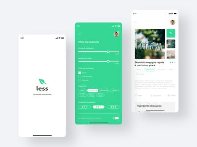 Less app. Design 2/2