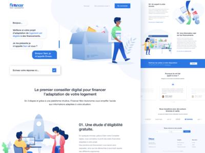 FinancerMonAutonomie - web platform