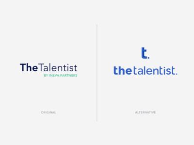 The Talentist - Brand identity (redesign)
