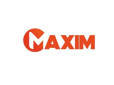 Maxim Logo creativity ux logo design graphics design logo