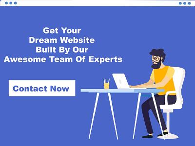 Website Design Advertisement branding design typography illustration