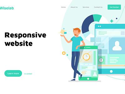 Responsive Website  Design website design