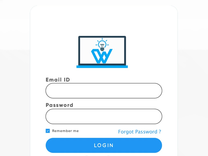 Login From login form design graphics
