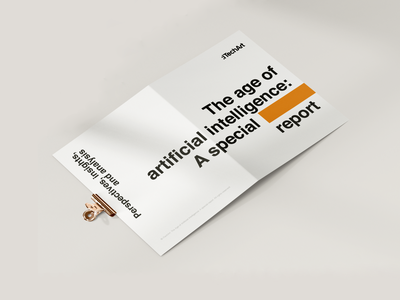 AI special report: Perspectives, insights, and analysis typogaphy report ai graphic design design developement developers itechart