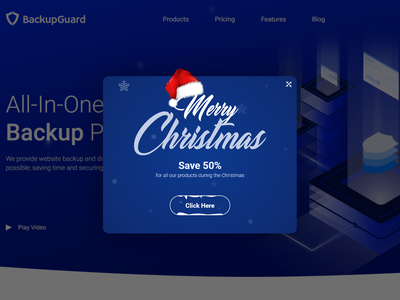 Christmas Popup new year christmas popup webdesign design ux ui
