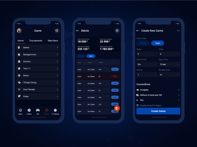 App For Bet mobile ui mobile app mobile design ux ui