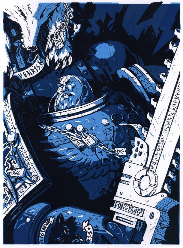 Hero 2 print spacewolf