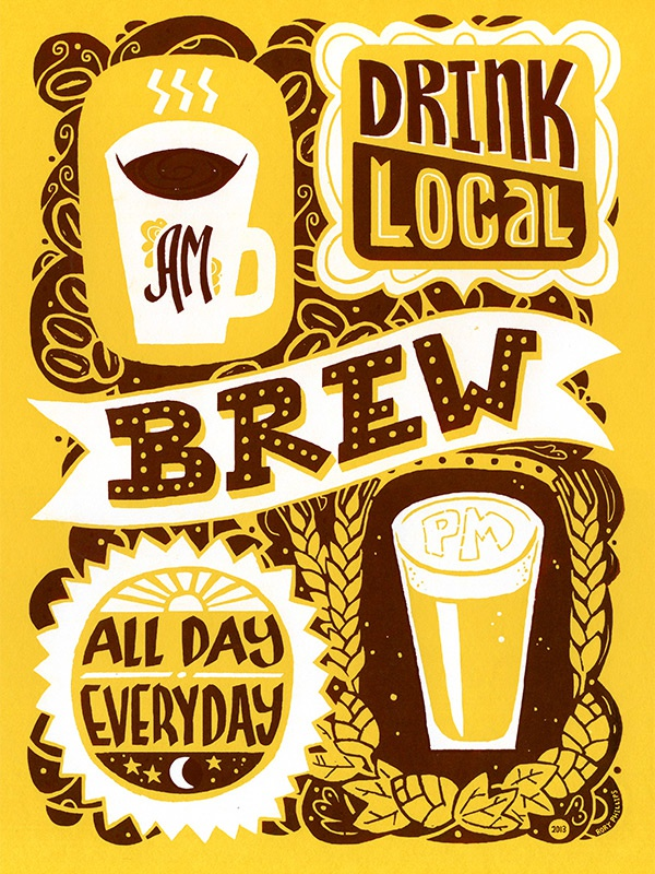 Drink local brew 2