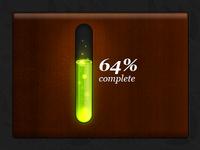 Toxic progress bar 3D