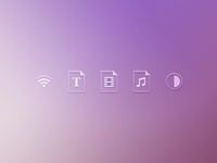 Just some icons