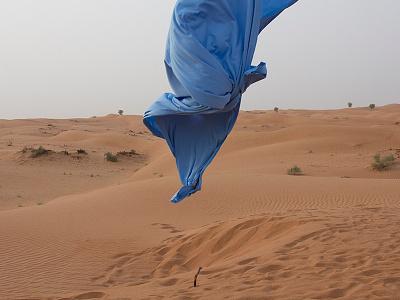 -ING Creatives Photoshoot dubai desert fabric art direction photography