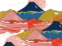 Japanese inspired pattern