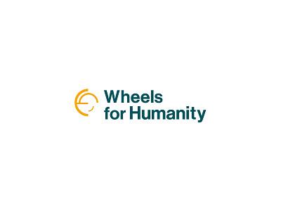 Wheels For Humanity Logo modern logo concepts ngo circle motion san-serif font neue haas grotesk display std fresh