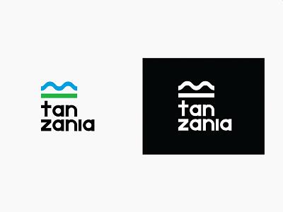 Tanzania Tourist Board Logo tanzania africa tourism icon logomark graphic design logotype logo design design logo brand