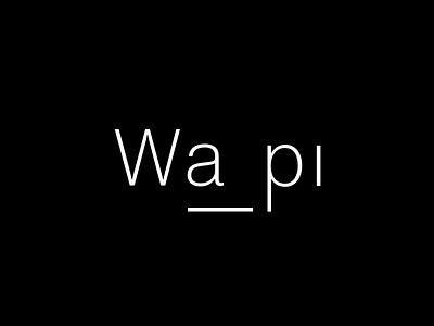 Wapi Logo v1 travel brand logo