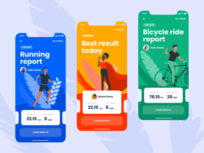 Activity tracking app