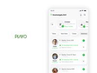 PlayO App Redesign Skeuomorphism (Closeup)
