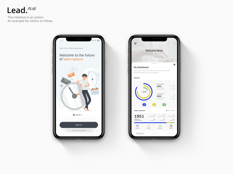 Let's Lead App Redesign