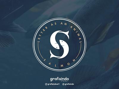 Salmon Logo branding logo design
