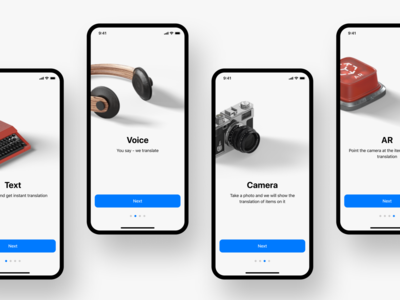 Translate.me • Onboarding 2020 2020 trend sketch gray photos trend translate app design minimal white android ux app typography ios ui design figma