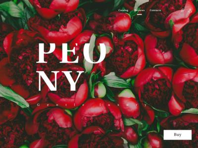 Peony - Home Page