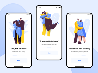 Flur (Dating App) • Onboarding