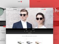 Glasses webstore