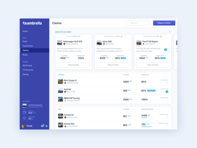 Teambrella - web application