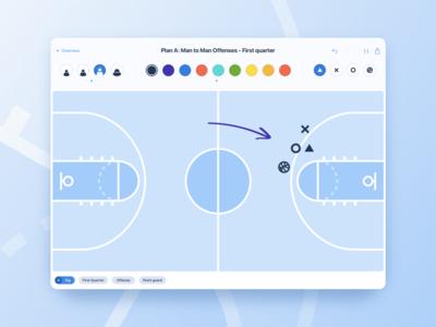 Basketball iPad App