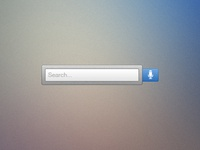 Search with speech option
