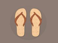 3D Sandals Logo
