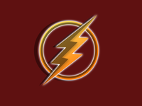 3D Flash Logo
