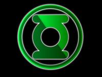 Green Lantern 3D Logo
