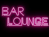 Bar Lounge 3D Glossy Logo