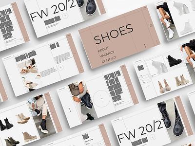Homemade Shoes | Web uiux design branding graphic design ui brand web interface uidesign design website design website