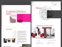 Scandinavian design website