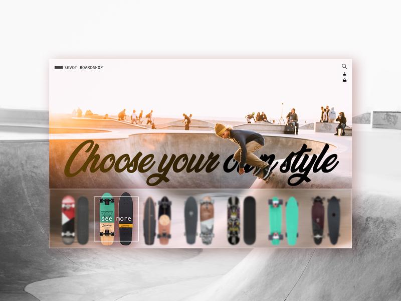 Board store skateboard design skateboard ux landing design color branding brand interface interface design interface designer landing landing page graphic design ux ui design ui uidesign website design design web website