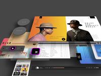 UI/UX Desgn Music App