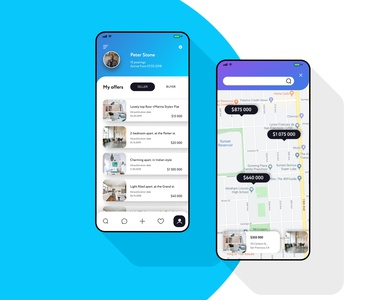 Real Estate App UI/UX