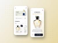 Perfume shopping app