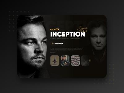 Video Intro Page UI Concept🎥🎞