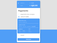 @Daily UI #002 - Credit Card Checkout