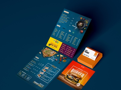 Complete Food Menu Pack
