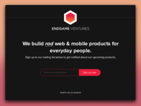 EndGame Ventures LP