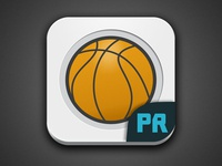 PlayRank Basketball Icon