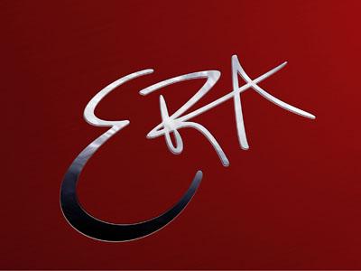 Era (logo for bar and Grill) logo restaurant silver branding lettering mark