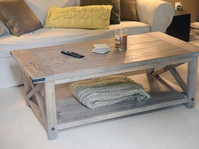 handmade rustic coffee tablebrian lewis - dribbble
