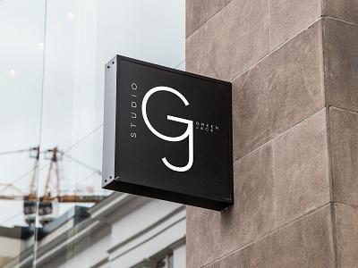 Studio Green Jack icon vector mock-up logo design branding