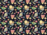Moths at Midnight Pattern
