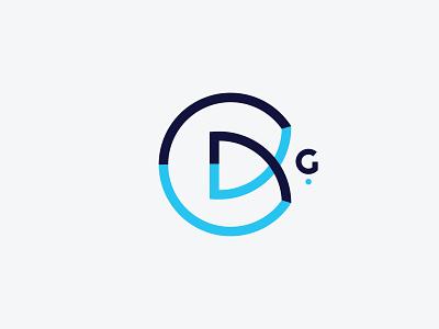 CDG Monogram sophisticated business identity business business card identity branding corporate identity corporate coorporate circle logo blue logo sleek logo modern logo lettermark cdg monogram cdg logo cdg monogram design monogram logo monogram